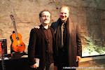 Los guitarristas José Luis Ruiz del Puerto y Edoardo Catemario