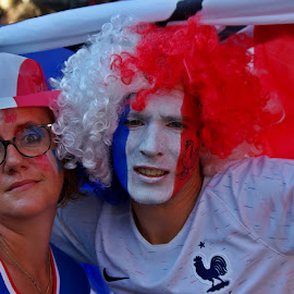 World champions I by Ciprian Apetrei - People Street & Candids ( painted, happy, france, football, people )