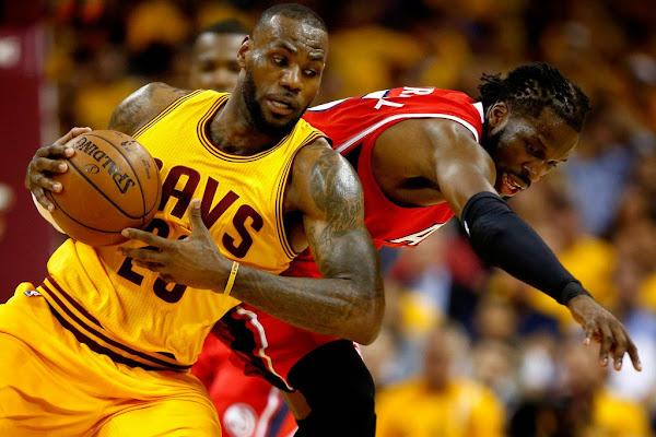 LeBron Cavaliers Rule East amp Earn NBA Finals Spot by Sweeping Hawks