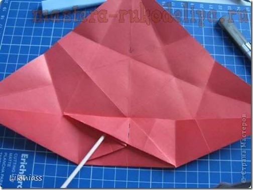 flor de pascua origami (16)