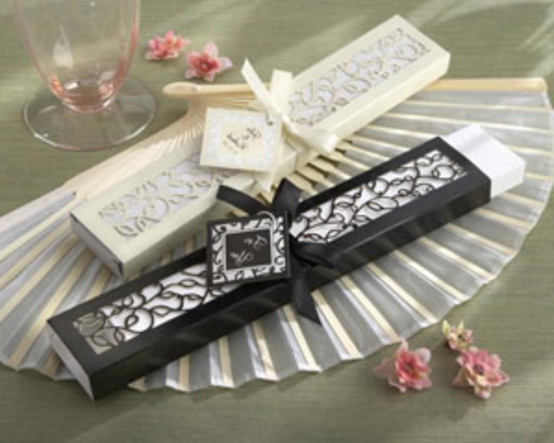 Luxurious Silk Fan in gift box