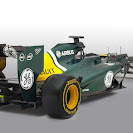 Caterham CT01 Renault back-right