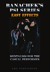 Cover of Banachek's Book Easy Effects