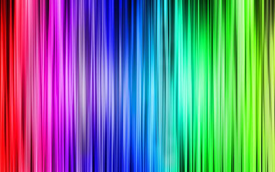 Cortina de cores