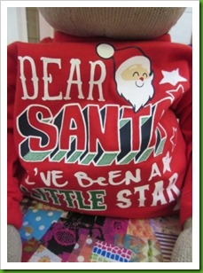 Primark baby Christmas top