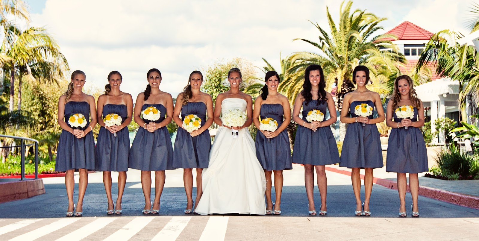 Modern Beach Wedding with