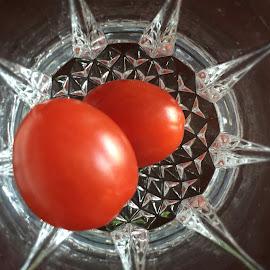 Tomatoe Crystal by Lope Piamonte Jr - Food & Drink Fruits & Vegetables
