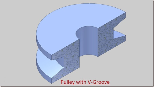 Pulley with V-Groove_2