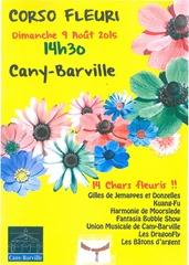 corso fleuri Cany Barville 2015