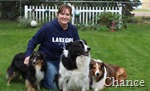 Jen and the dogs