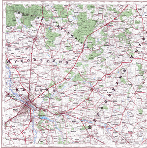 Map 100k--m34-001--(1995)