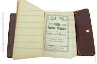 Diary of the member of Infanterie-Regiment Graf Tauentzien von Wittenberg (3.Brandenburgisches) Nr.20
