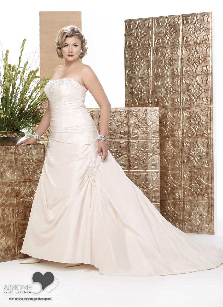 plus size vintage wedding