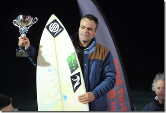 Russell Winter night surf champion 2015 2