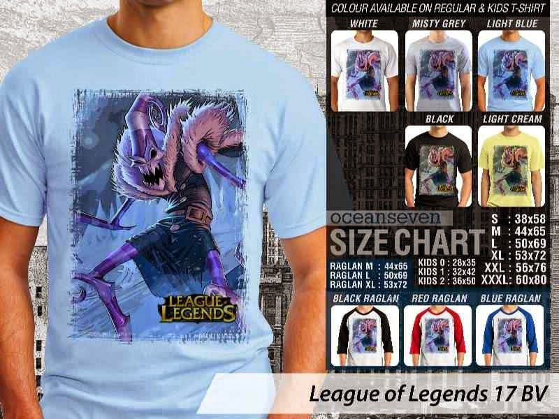 Kaos Game Online League of Legends 17 distro ocean seven