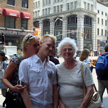 my mother and grandma in new york in New York City, New York, United States