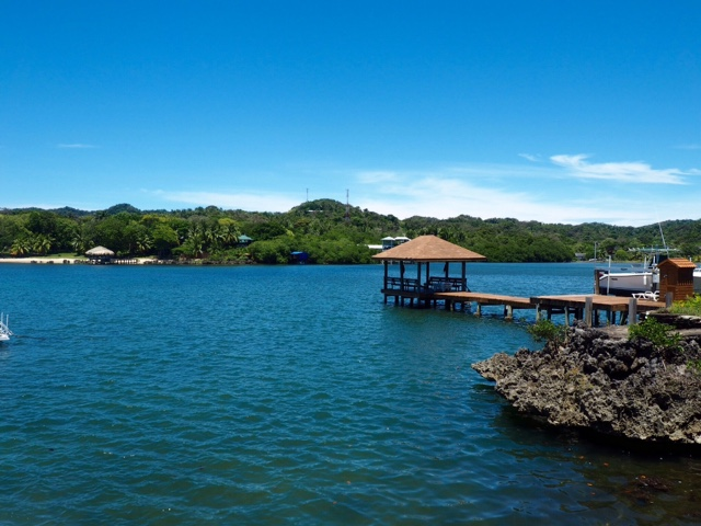 Dock in West End, Roatán Island, Honduras