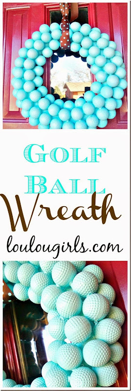 golf ball wreath4