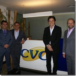 Ruy e Robinson com a CVC