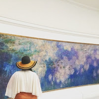 Water Lilies murals by Claude Monet