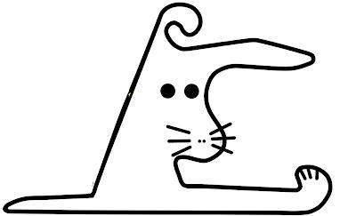 пасхальный кролик в форме трассы Шанхая от Kelta
