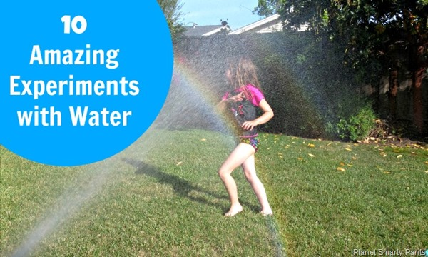 10 Science Experiments with Water