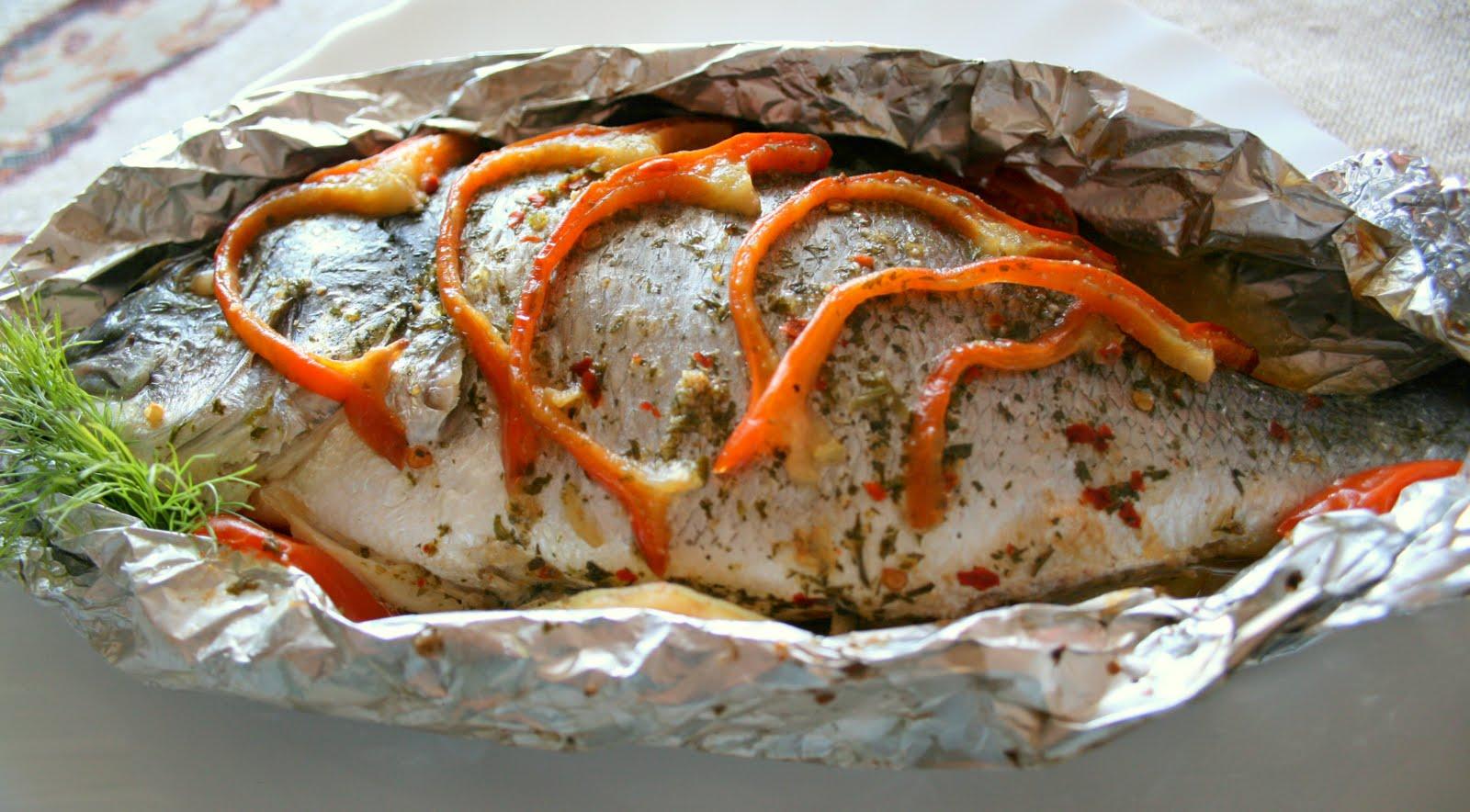 Рецепт рыба в духовке