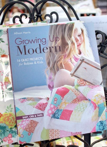 Growing Up Modern quilt book