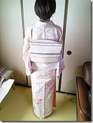 小紋に名古屋帯でお茶会に (12)
