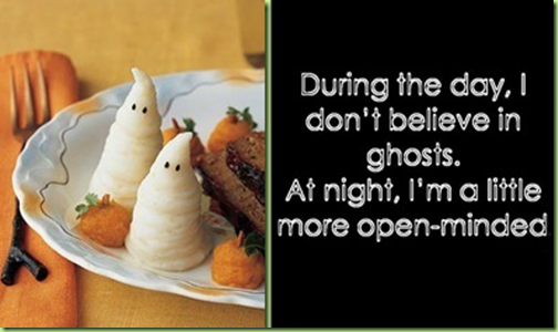 halloween ghost potatoes