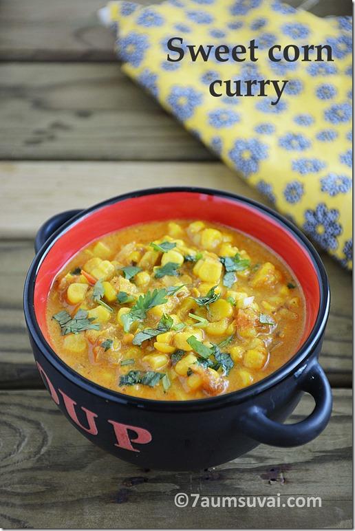Sweet corn curry