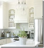 Give kitchen cabinets a custom look