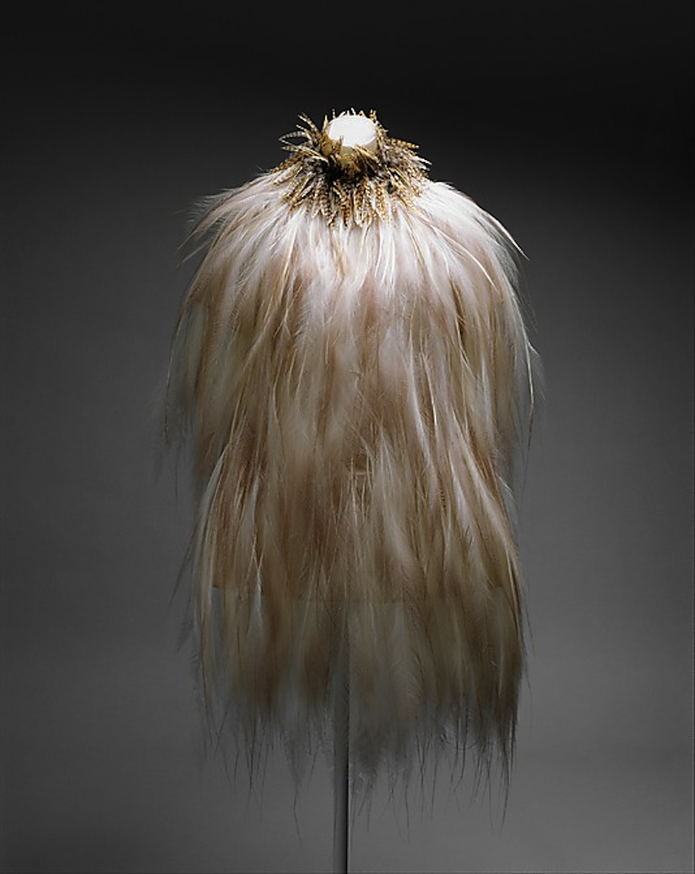 On my Lust List [1969/70 YSL Couture Feather Dress]