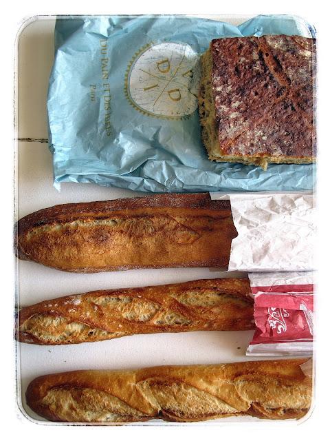 Baguettes, paris. pic:Kerstin Rodgers