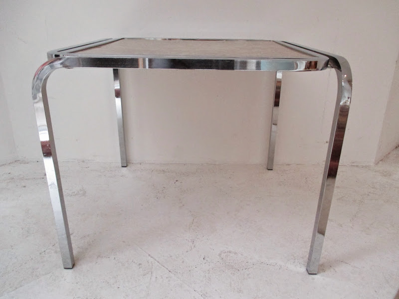 Chrome Plated Side Table