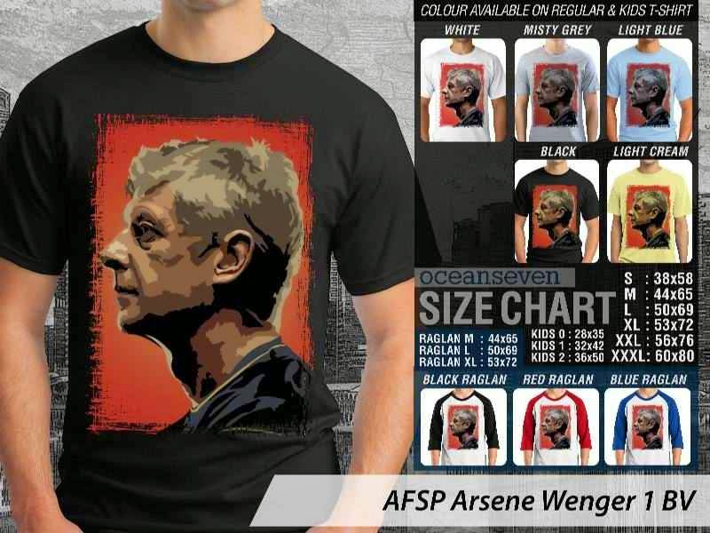 Kaos Bola Arsene Wenger 1 Arsene Wenger distro ocean seven