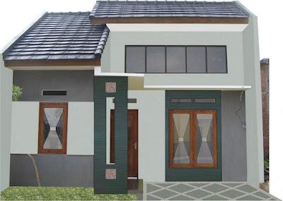 Gambar Denah Rumah Type 36 2 Kamar Terkini