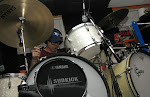 """Dear Yamaha, Gretsch, Remo, Sabian, Shure and Geddy Lee: Organical loves free stuff.  Plenty more """"your logo goes here"""" photo ops, if you play your cards right, know what I'm sayin'?  Contact us at """"Organical.net"""""""