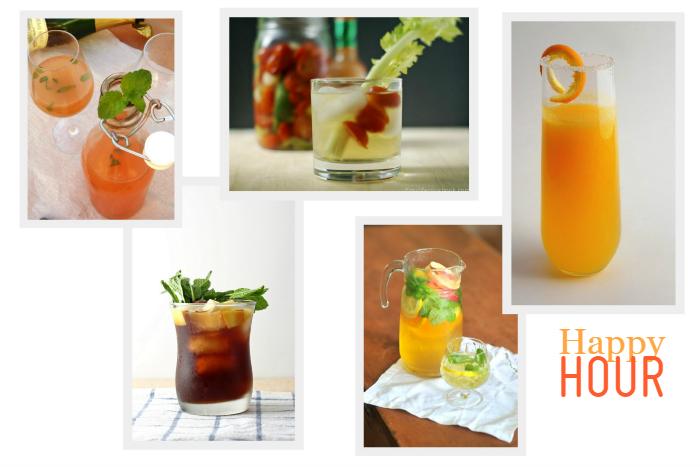 Happy Hour Refreshing Cocktail ideas via homework