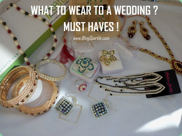 Must haves for every wedding occasion