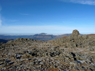 Raise Summit with Skiddaw in the distance