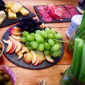 vintage cheddar cheese board