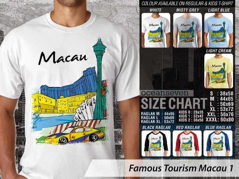 Kaos Wisata Macau 1 Wisata distro ocean seven