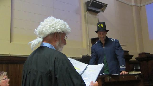 Erik as the Constable.