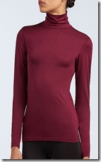 Umiqlo Heattech long sleeved roll neck top - colours