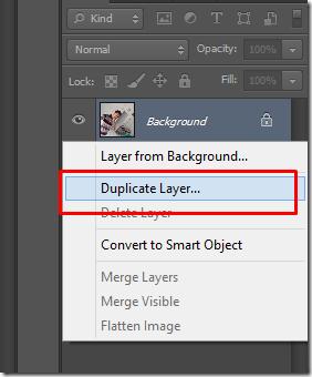 trik membuat efek duplicate foto jadul