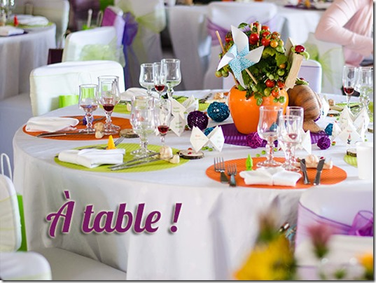 a table mariage di-day