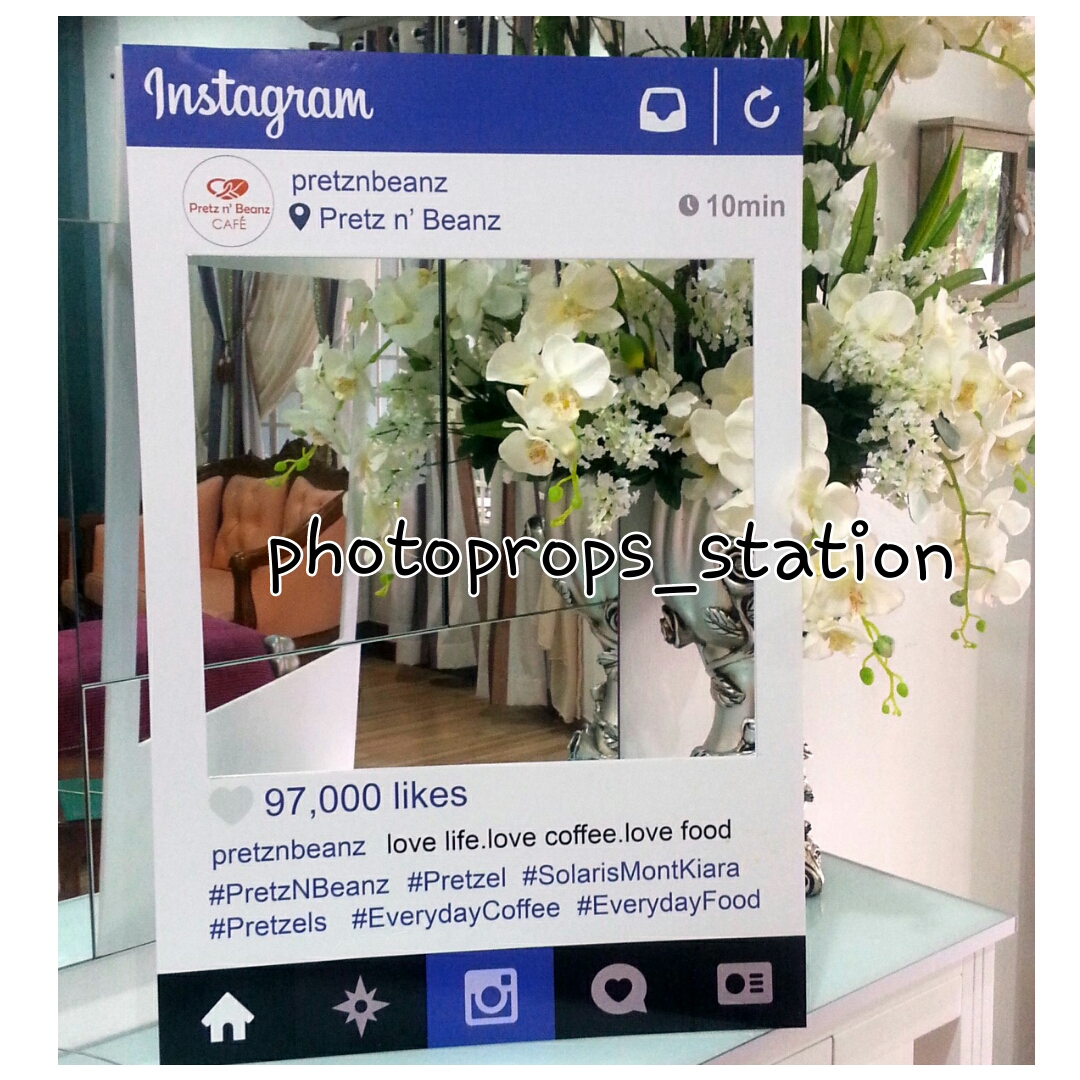 Your Cute Wedding Props: Instagram frame