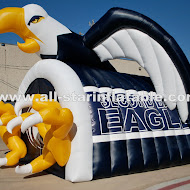 Second Baptist Eagles Tunnel.JPG