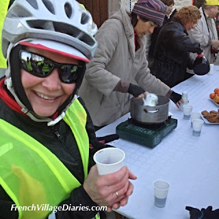 French Village Diaries cyclothon telethon 2015